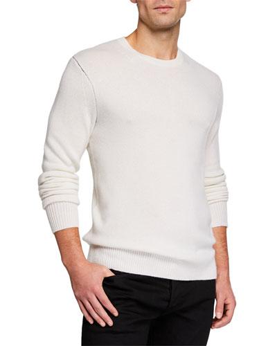 Men's Haldon Cashmere Crewneck Sweater