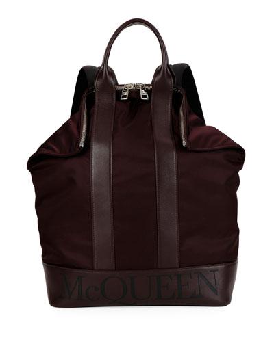Men's De Manta Nylon Backpack