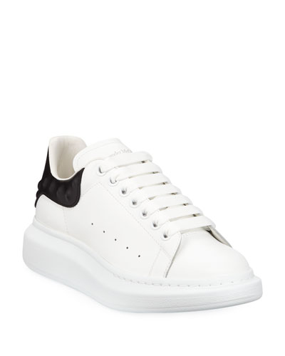 Men's Oversized Leather Low-Top Sneakers