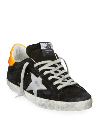 Men's Superstar Suede Sneakers