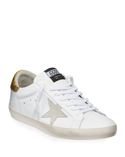 Men's Superstar Leather Low-Top Sneakers