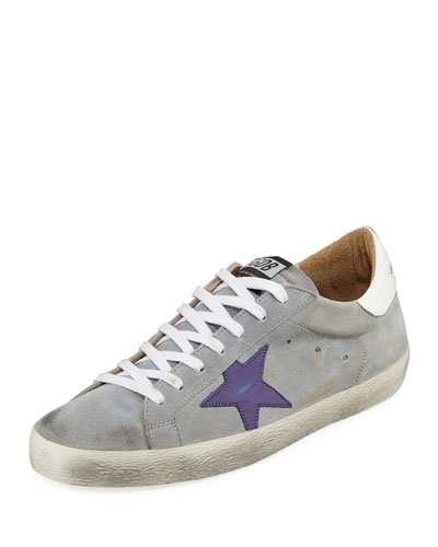 Men's Superstar Suede Low-Top Sneakers