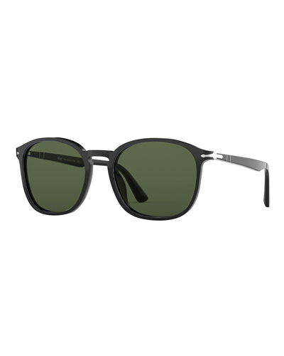 Men's Acetate Square Sunglasses