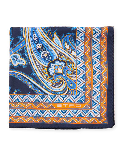Men's Jamul Silk Pocket Square