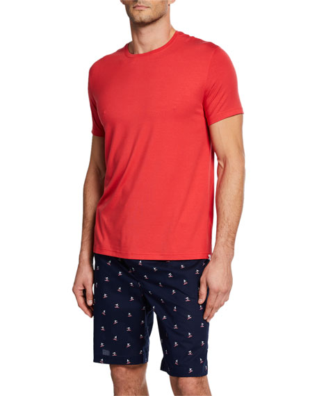 Derek Rose T-shirts MEN'S BASEL SOLID SHORT-SLEEVE T-SHIRT