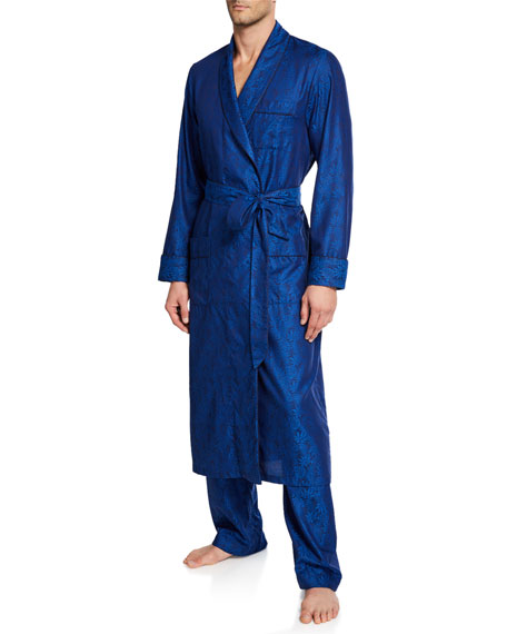 Derek Rose Men's Paris 15 Cotton Robe