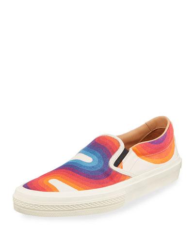 2a4820e3e295 Men s Wave Print Slip-On Sneaker Quick Look. Dries Van Noten