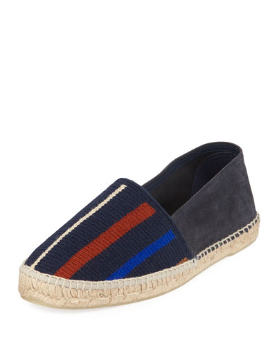Men's Knit-Front Espadrille