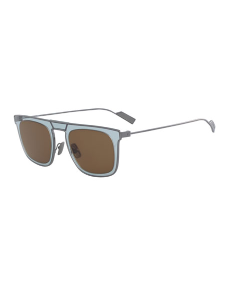b394b0711e9f Salvatore Ferragamo Men's New Generation Two-Tone Sunglasses