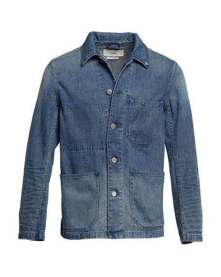 Men's Denim Worker Jacket