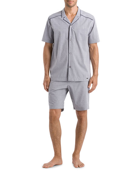 Hanro Men's Theo Pajama Set