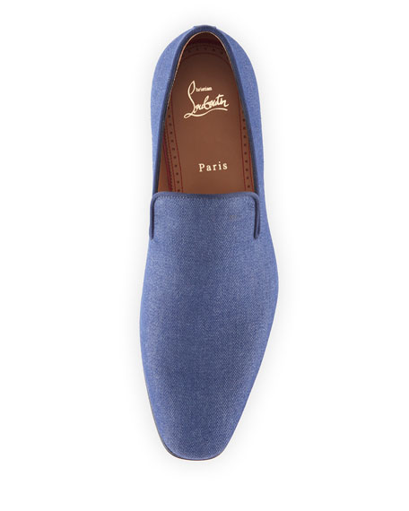 new style 40d35 85e68 Men's Dandelion Flat Denim Loafers