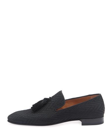 Men's Tresse Woven Tassel Loafers