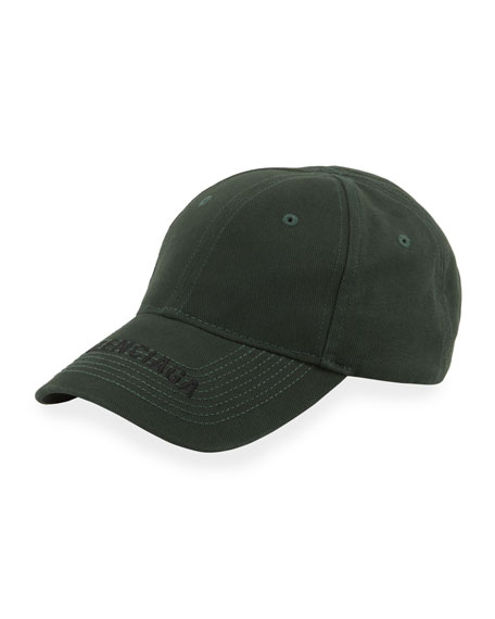 Men's Logo Embroidered Baseball Cap