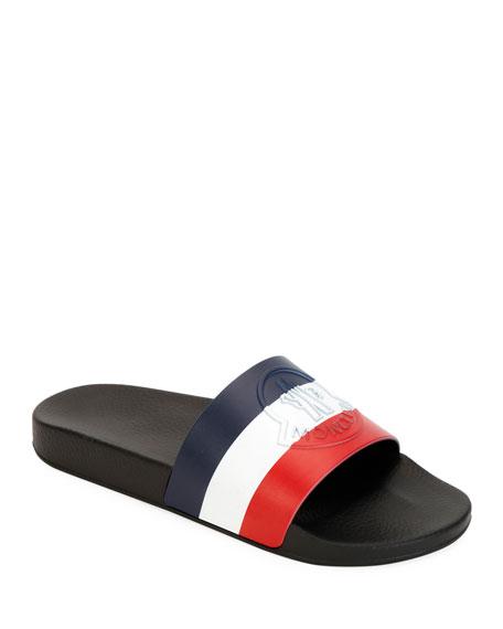 Moncler Men's Pool Slide Sandals
