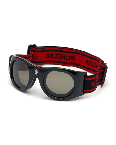Moncler Men's Genius Active Ski Goggle Sunglasses