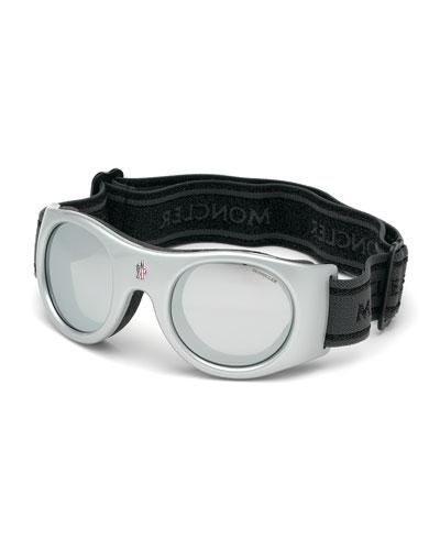 Men's White Lens Active Sunglasses