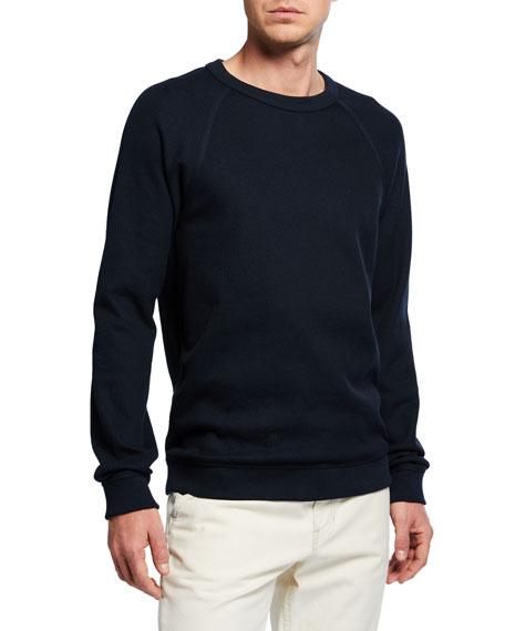 Men's Long-Sleeve Flatback Rib Crew T-Shirt