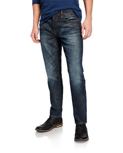 Men's Blake Slim-Straight Distressed Jeans