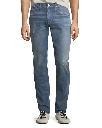 167d3283ece Men's Blake Slim-Straight Denim Jeans Intoxicate Quick Look. Hudson