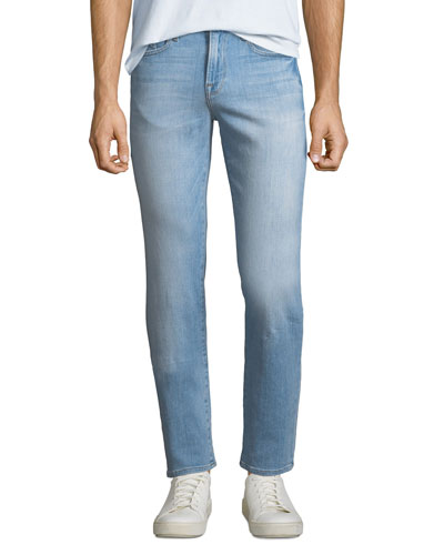 L'Homme Slim-Straight Denim Jeans