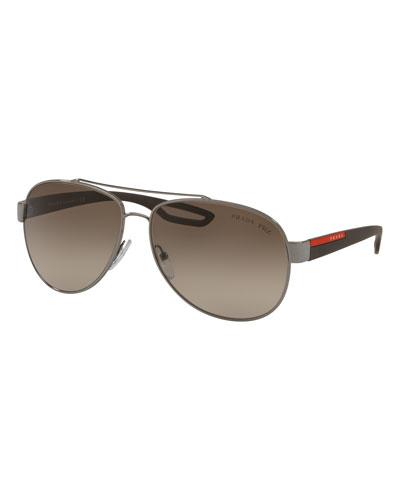 Men's Steel Sunglasses