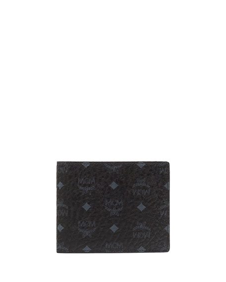 a7d38a326ef MCM Men s Visetos Original Two-Fold Wallet