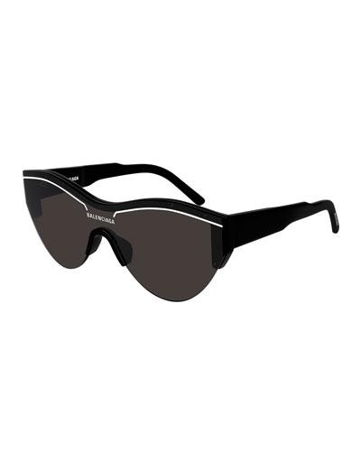 Men's Ski-Construction Mask Sunglasses