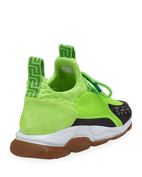 Men's Cross Chainer Neoprene & Mesh Sneakers