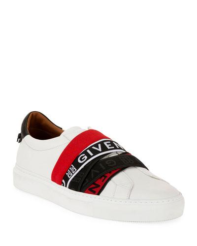 Men's Urban Street Multi-Elastic Slip-On Sneakers