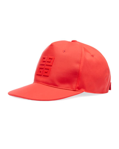 Men's Flat Peak Tonal Logo Hat