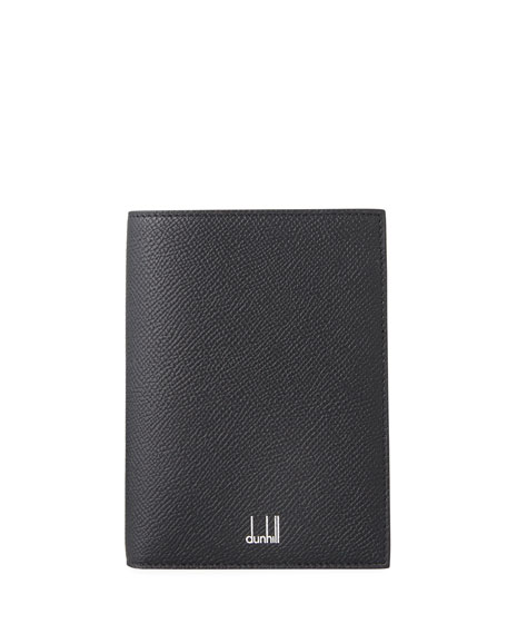 dunhill Cadogan Leather Passport Holder