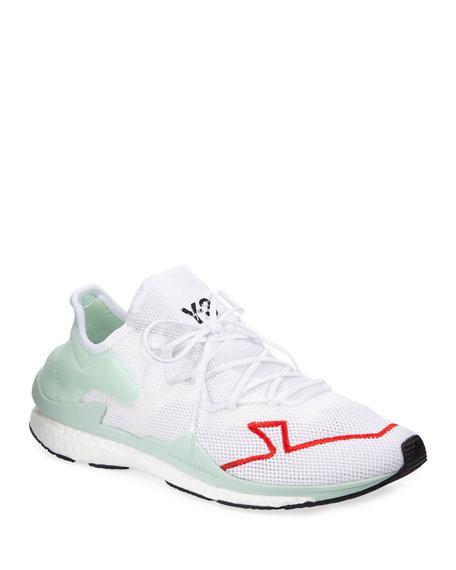 Y-3 Men's Adizero Lace-Up Mesh Running Sneakers