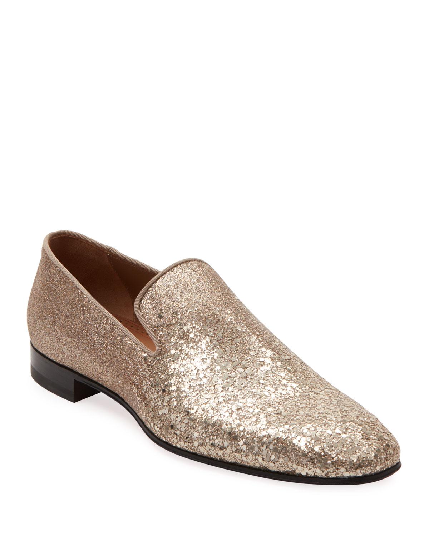 innovative design 0f0e6 06cde Men's Dandelion Glitter Formal Slippers