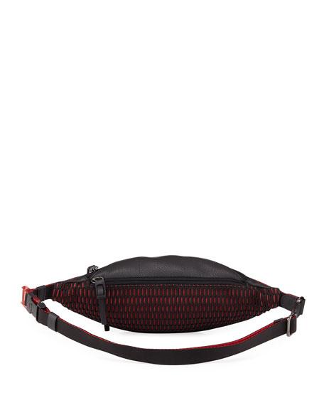Men's Paris NYC Leather Belt Bag