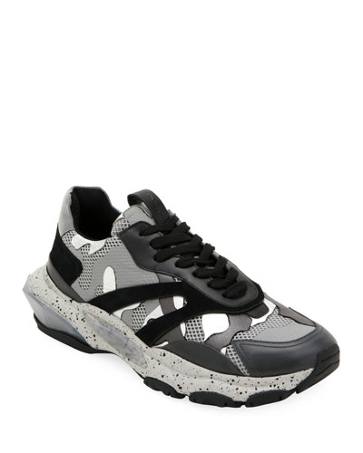 Men's Bounce Camo Runner Sneakers