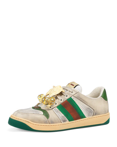 48da87fd6b8b Promotion Men s Screener Leather Low-Top Sneakers Quick Look. Gucci