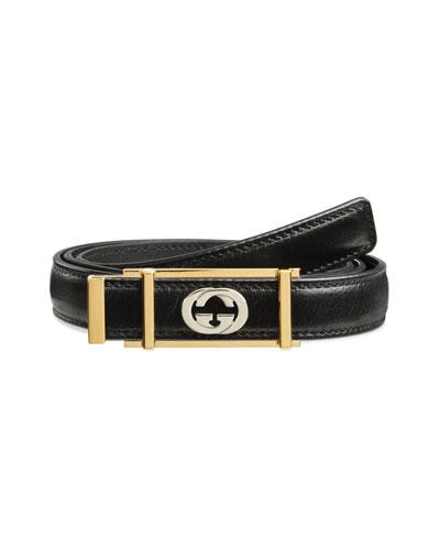 34f6f69ec5f Gucci Belts   Buckle   Cutout Belts at Bergdorf Goodman