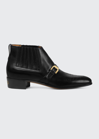 2d9d7dd08c76 Men s Designer Boots   Chelsea   Chukka Boots at Bergdorf Goodman