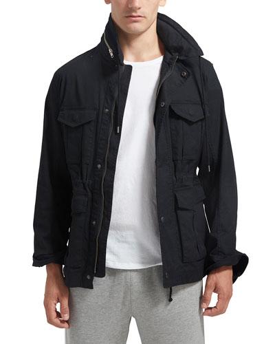 Men's Stretch-Cotton Field Jacket