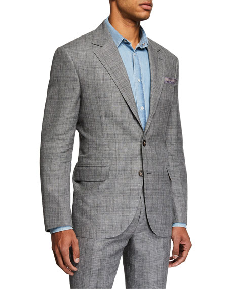 Brunello Cucinelli Men's Plaid Two-Piece Suit
