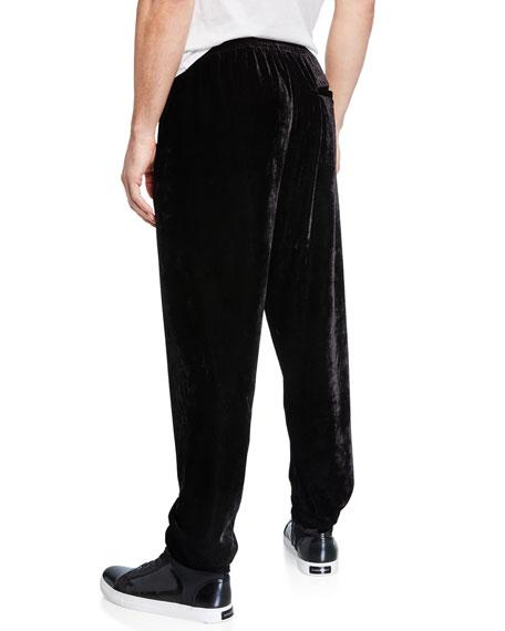 Men's Velvet Jogger Pants