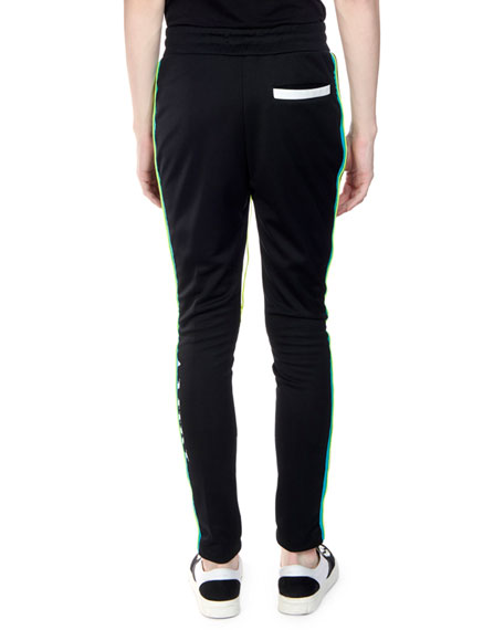 Men's Skinny-Fit Track Pants