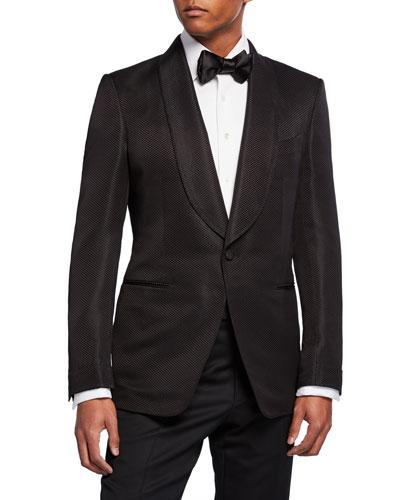 Men's Shelton Shawl-Collar Jacket
