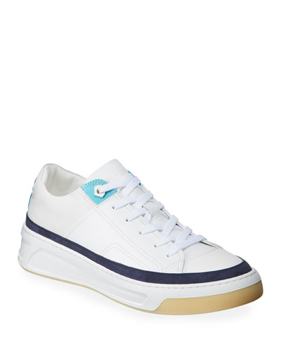 Men's Prodigy Lace-Up Leather Sneakers