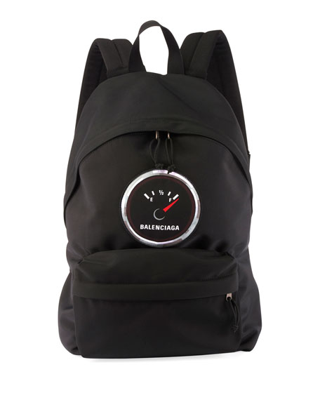 Balenciaga Men's Explorer Logo-Patch Backpack