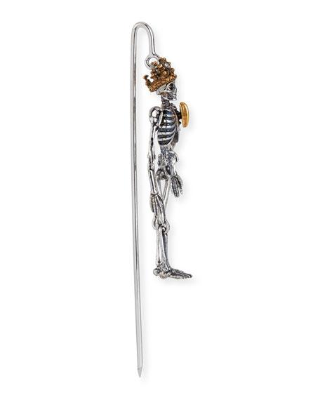 Men's Queen Skeleton Lapel Pin