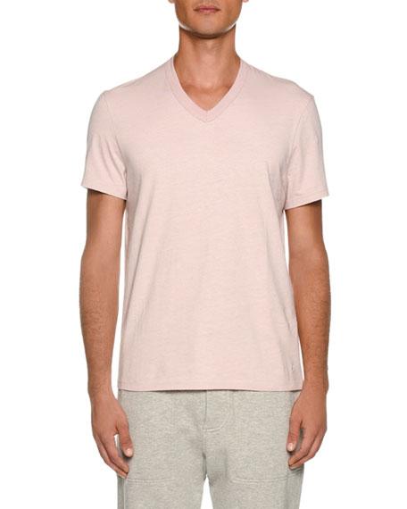 TOM FORD Men's Short-Sleeve V Neck T-Shirt
