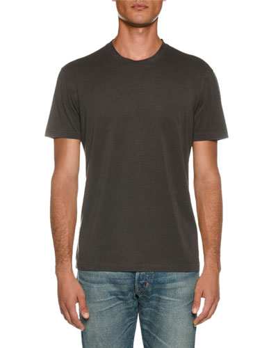 Men's Short-Sleeve Solid T-Shirt