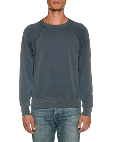 7bf69cda75cc62 Men s Vintage Garment Dyed Loop Back Sweater Quick Look. TOM FORD